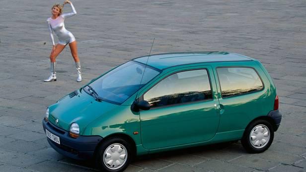 Werbung des Renault Twingos