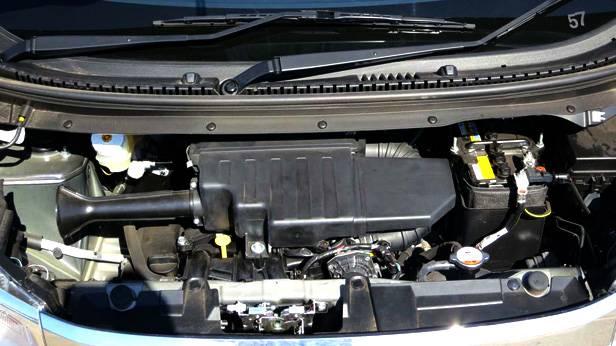 Nissan DayZ Highway Star, Motorraum