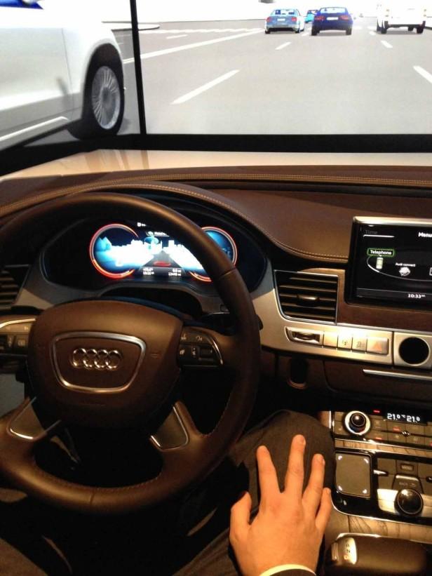Audi zeigte autonomes Fahren auf der CES 2013
