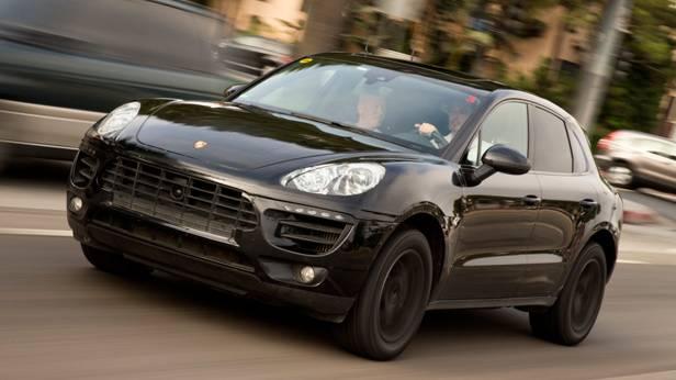 Der Porsche Macan von vorne