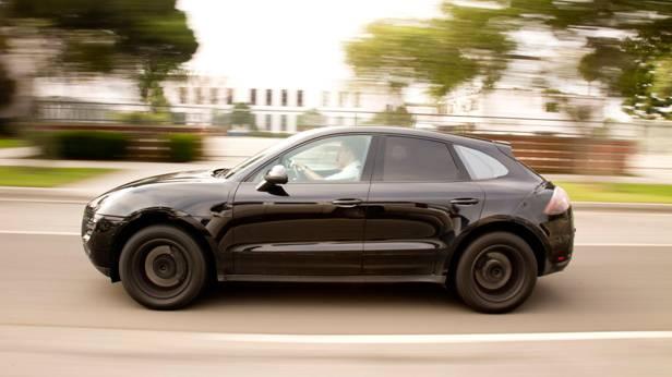 Der Porsche Macan, seitlich