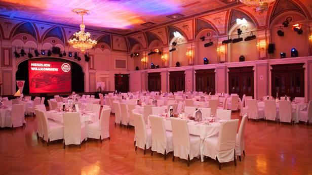 Autorevue Award 2013 Saal Casino Baden
