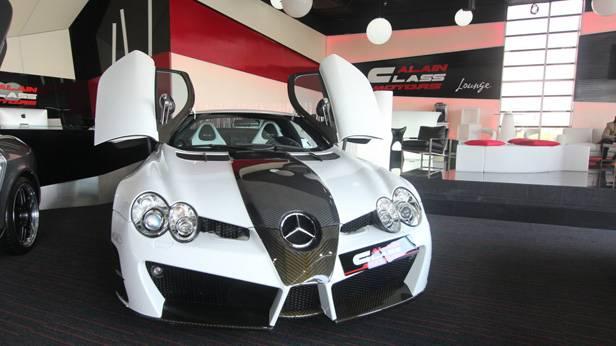 Mercedes SLR 722 bei Alain Class