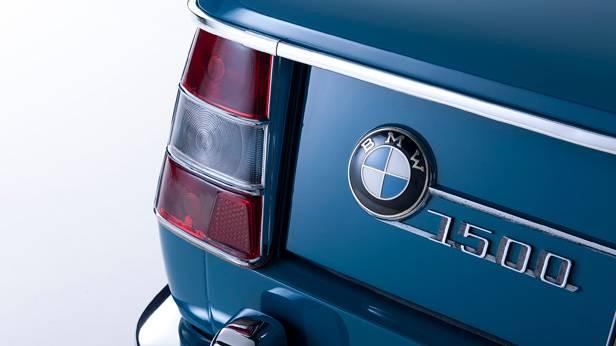 Der BMW 1500 Heck Detailansicht