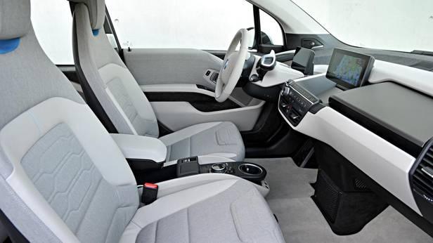 Der BMW i3, innen