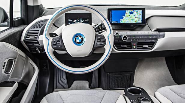 Der BMW i3 innen