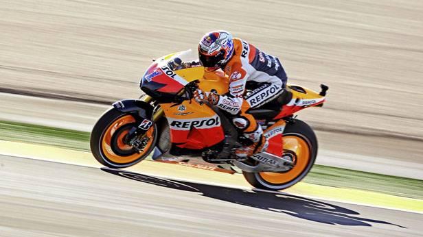 Casey Stoner beim MotoGP-Finale 2012