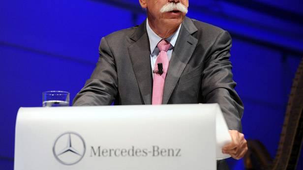 Dieter Zetsche bei einer Rede