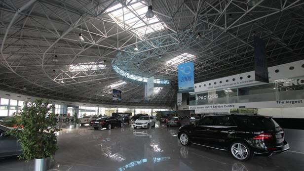 Emirates Motor Company in Abu Dhabi