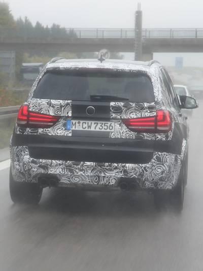 erstes Bilder erlkönig BMW X5M