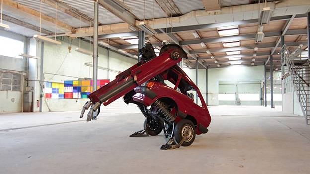 Ford Fiesta Transformer Transformers Hetain Patel Indien england Kunst
