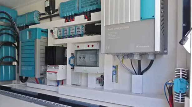 Der Global XRS 7200, Elektrik