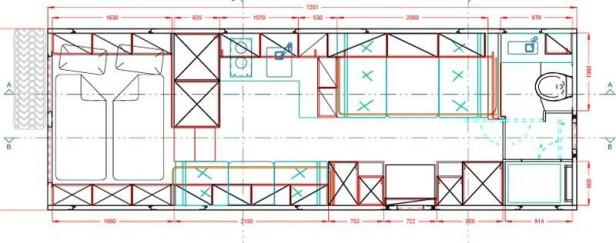 Der Global XRS 7200, Grundriss