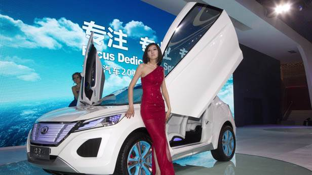 Concept Car von Great Wall Auto bei der Autoshow 2012 in China
