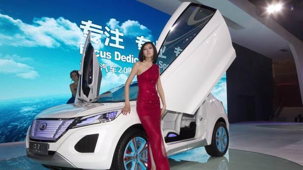 Concept Car von Great Wall Auto bei der Autoshow 2012 in China