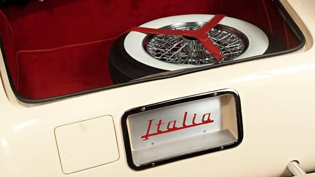 Das Hudson Italia Coupe, Kofferraum