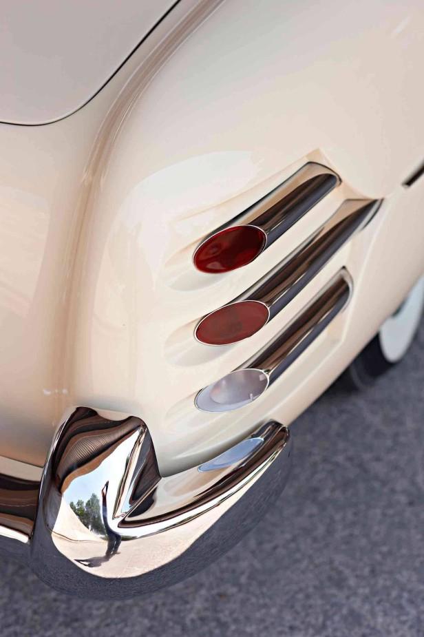 Das Hudson Italia Coupe, Rücklichter