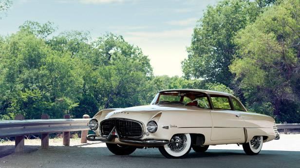Das Hudson Italia Coupe, seitlich