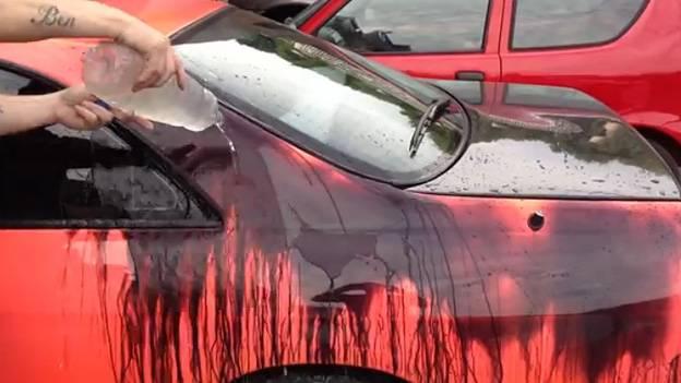 Lack der seine Farbe ändert temperatursensibel heat reactive