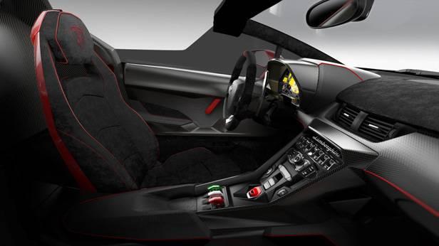 Innenraum des Veneno Roadster