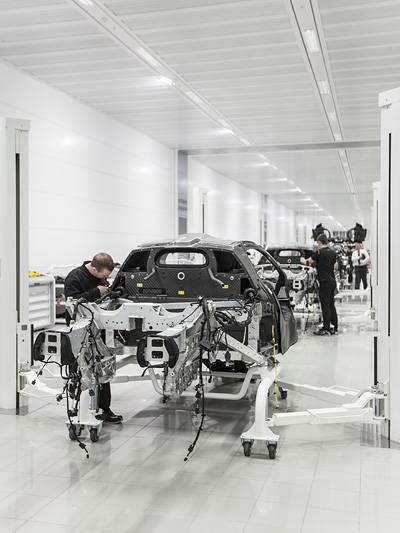 McLaren Werksführung MP4-12c MP4 12c Spyder P1 Woking