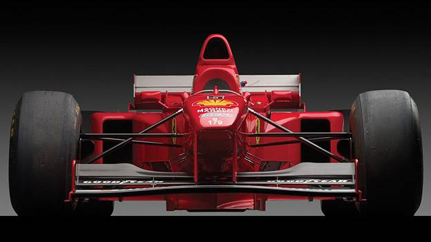 Ferrari F310 B Michael Schumacher Jacques Villeneuve Formel eins 1997 Versteigerung Auktion