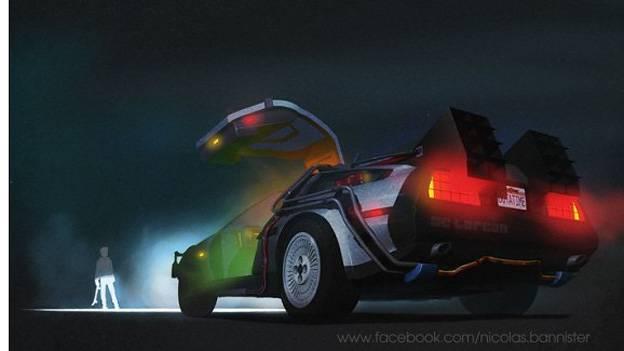 berühmte Filmautos famous movie cars Nicolas Bannister