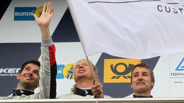 Sean Edwards beim 24-Stunden-Rennen auf dem Nürburgring