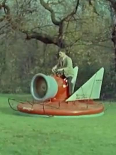 Skurrile Autos der Geschichte Hover Scooter verrückte Erfindungen Autos