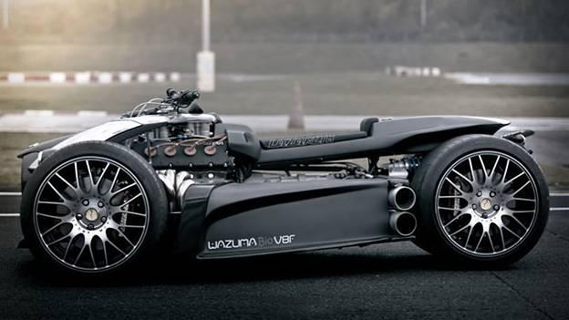 Wazuma V8F Quad mit Ferrari Motor Ferrarimotor Ludovic Lazareth