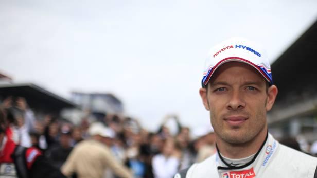 Alexander Wurz beim 24 Stunden Rennen von Le Mans 2012