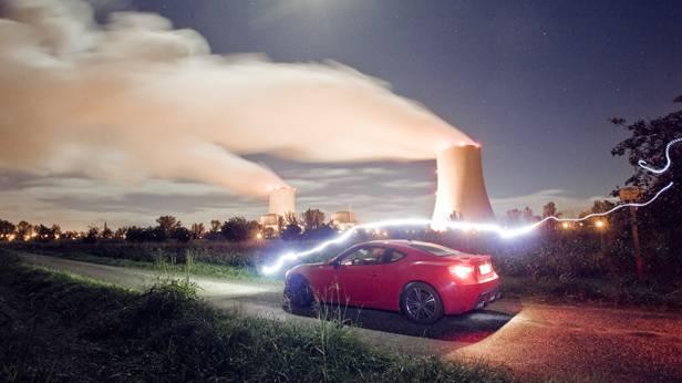 toyota gt86 gt 86 rot tour de france asterix hinten seite atomkraftwerk