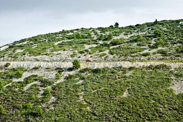 toyota gt86 gt 86 rot frankreich provence route de cretes