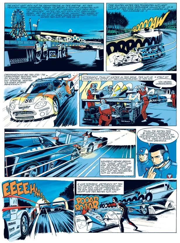 Michael Vaillant Comic 24 stunden unter druck