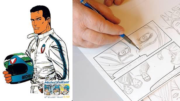 Michael Vaillant Comic zeichnen