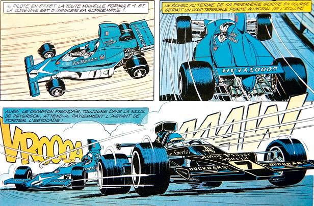 Michael Vaillant Comic 1974