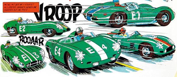 Michael Vaillant Comic 1960