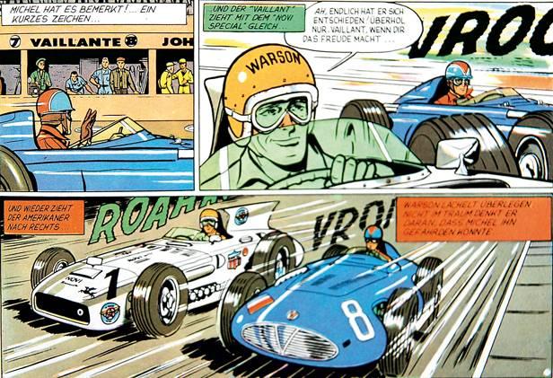 Michael Vaillant Comic 1958