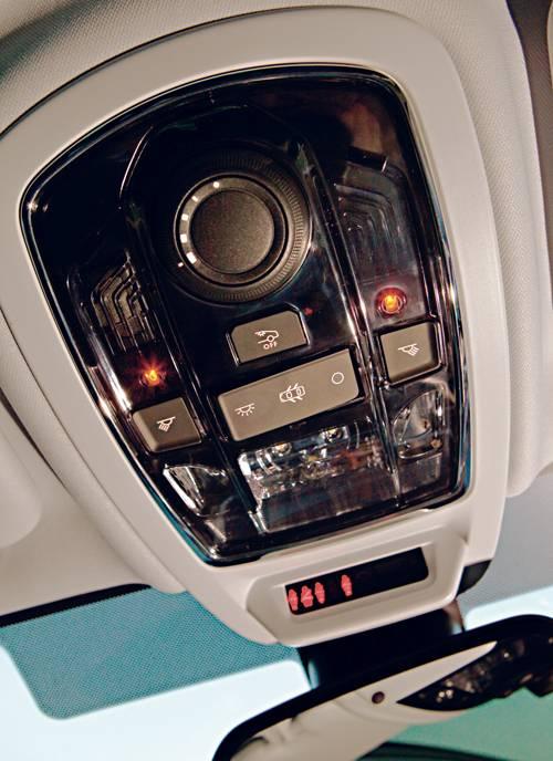 Peugeot 508 SW 2,0 HDi 160 Allure schalter bedienung glasdach