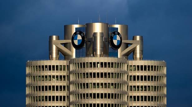 Die BMW Zentrale in München