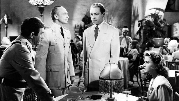Film Still aus dem Film Casablanca, von Michael Curtiz