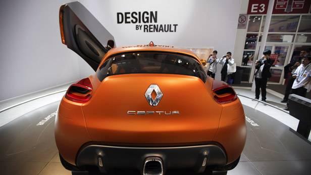Der Renault Captur auf der China Autoshow 2012