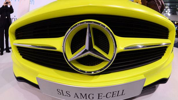 Ein SLS AMG E-Cell