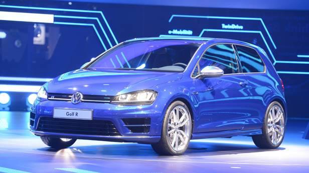 Der VW Golf R auf der IAA