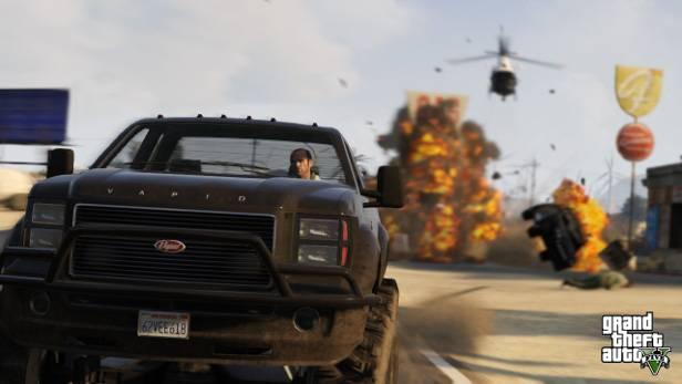 An Action fehlt es in GTA V nun wirklich nicht.
