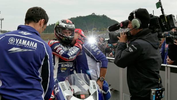 jorge lorenzo japan qualifying