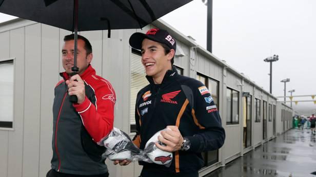 Marc Marquez vor dem GP in Motegi