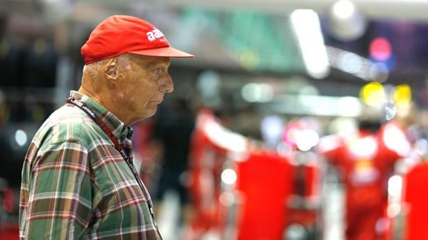 Lauda: Nicht erfreut über die Leistung seines Teams