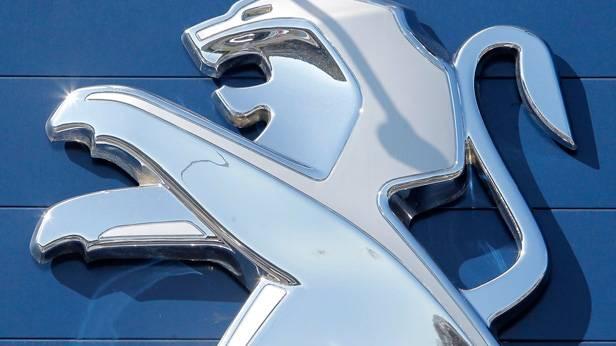 Das Logo von Peugeot