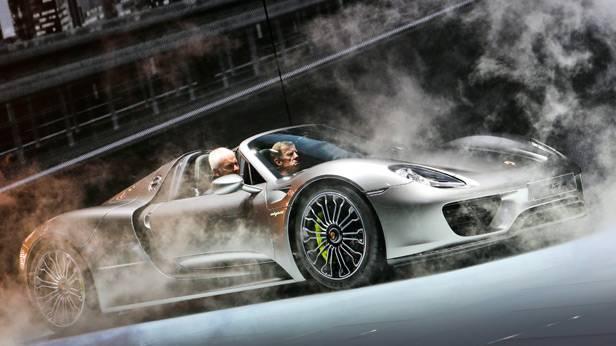 Der Porsche 918 Spyder bei der IAA 2013